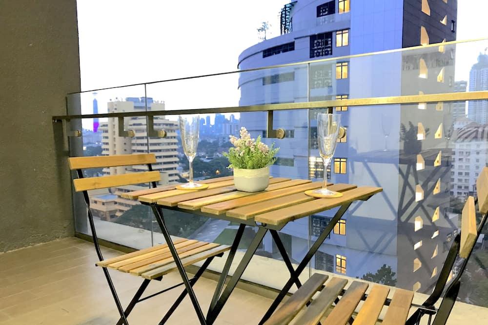 Basic-Apartment, 3Schlafzimmer (B-12-13) - Balkon