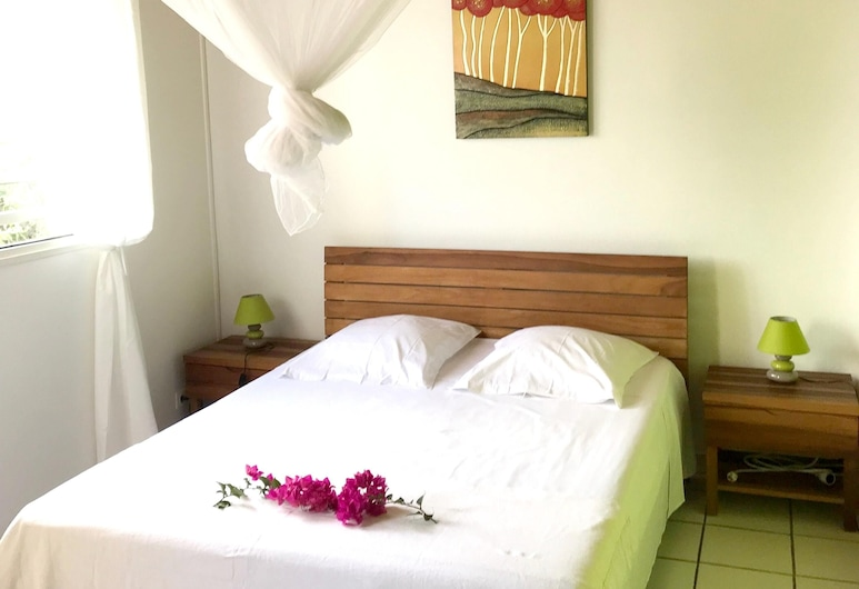 Apartment With one Bedroom in Le François, With Terrace and Wifi - 2 km From the Beach, 勒弗朗索瓦, 公寓, 客房