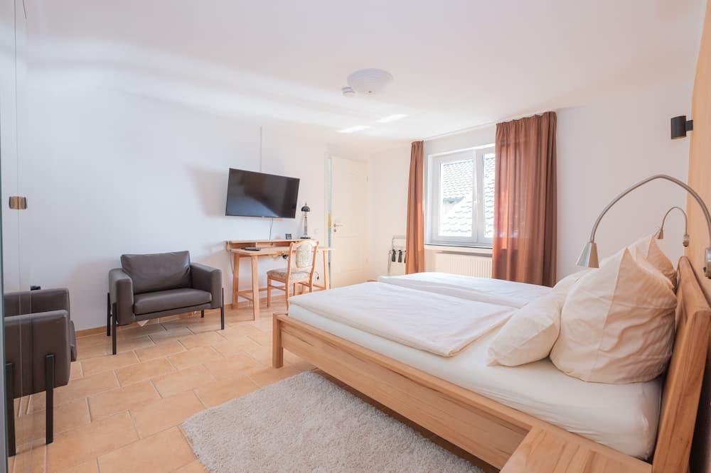 Двухместный бизнес-номер с 1 двуспальной кроватью - Ванная комната