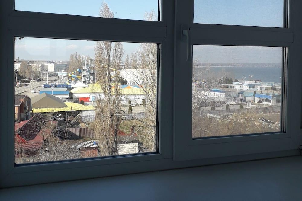 Economy-Zweibettzimmer - Blick auf die Straße