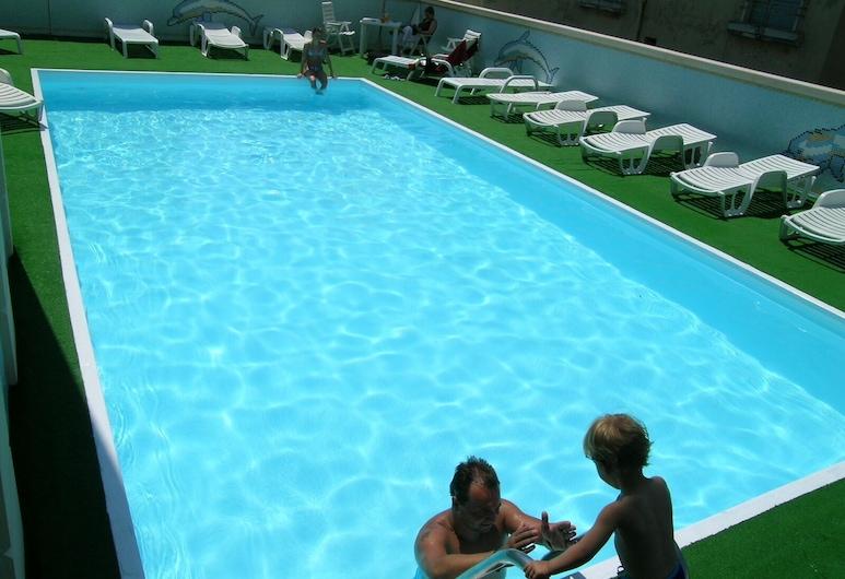 Hotel Gallia Palace, Riminis, Lauko baseinas