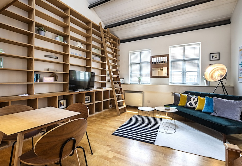 Imperial Hall · Excellent and Cosy Apartment In Old Street, 倫敦, 標準公寓, 1 間臥室, 廚房 (Fully equipped apartment), 客廳