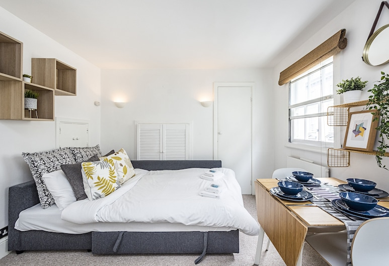 Beautiful apartment in the heart of Covent Garden, 倫敦, 標準公寓, 1 間臥室, 廚房 (Fully equipped apartment), 客房