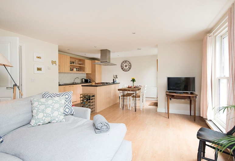 64 Clapton Square · Amazing 2 Bed Apartment Close To Clapton Square, 倫敦, 標準公寓, 2 間臥室, 廚房 (Fully equipped apartment), 客房