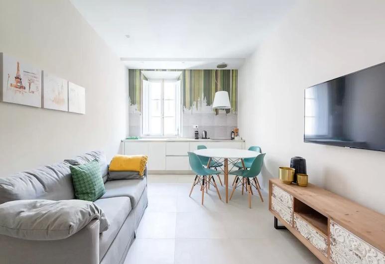 SuityRHome RioneMonti54, 羅馬, 公寓, 2 間臥室, 露台, 客廳