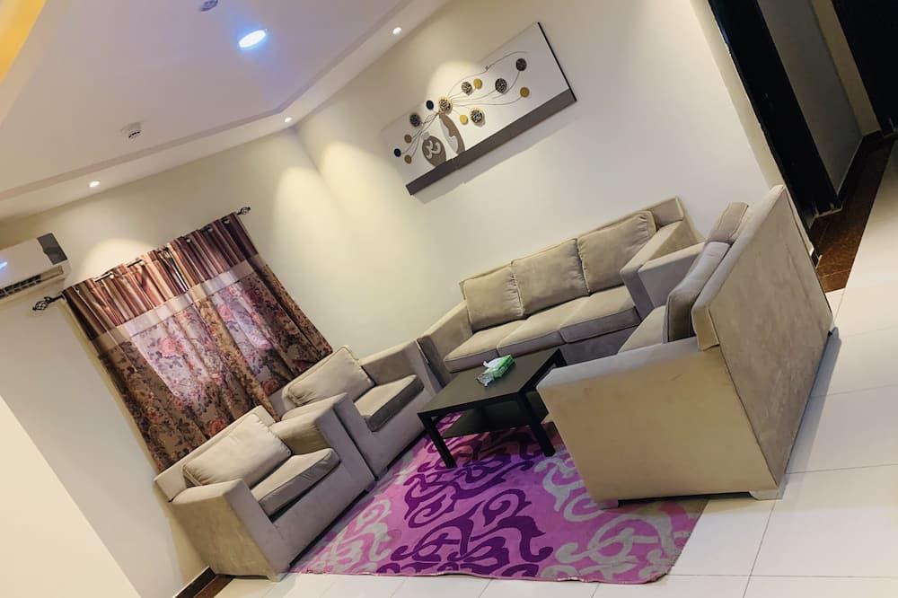 Apartmán typu Basic, 1 dvojlôžko - Obývacie priestory