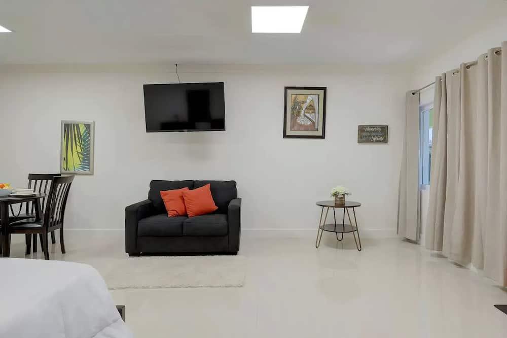 Apartament typu Studio, Łóżko queen - Powierzchnia mieszkalna