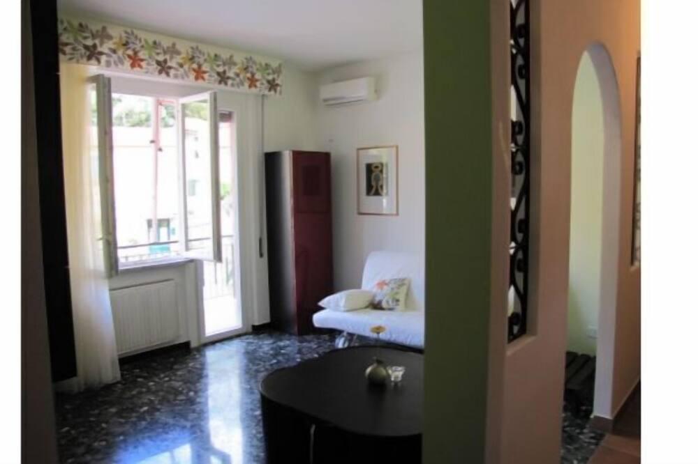 Dzīvokļnumurs, viena guļamistaba, balkons (Vernazza) - Dzīvojamā zona