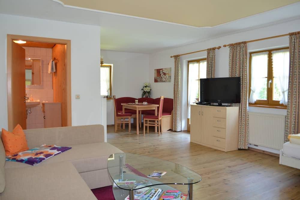 Apartmán, 1 spálňa (Bergblick) - Obývacie priestory