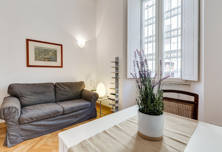 Little and loving apartment in the center of Rome, Rome, Appartement, 1 slaapkamer, Woonruimte
