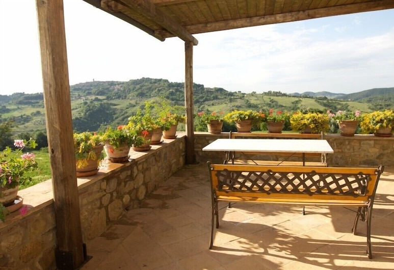 Agriturismo Podere Paugnano, Radicondoli, Departamento, 2 habitaciones, vista al valle, Terraza o patio
