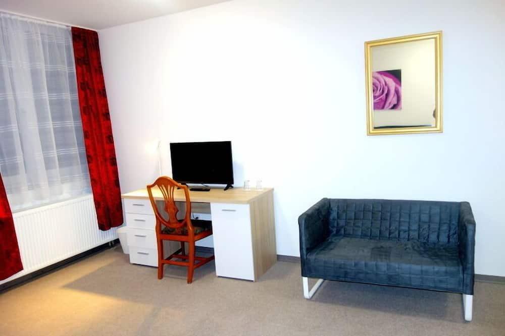 Comfort-værelse med dobbeltseng eller 2 enkeltsenge - Opholdsområde
