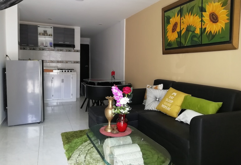 Family Friendly in Closed Set. Near the Beach and the Historic Center, كارتاغينا, الغرفة