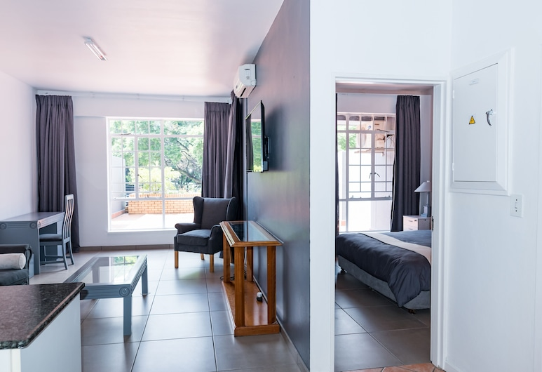 The Jack Rose, Johannesburga, Standarta luksusa numurs, Dzīvojamā istaba