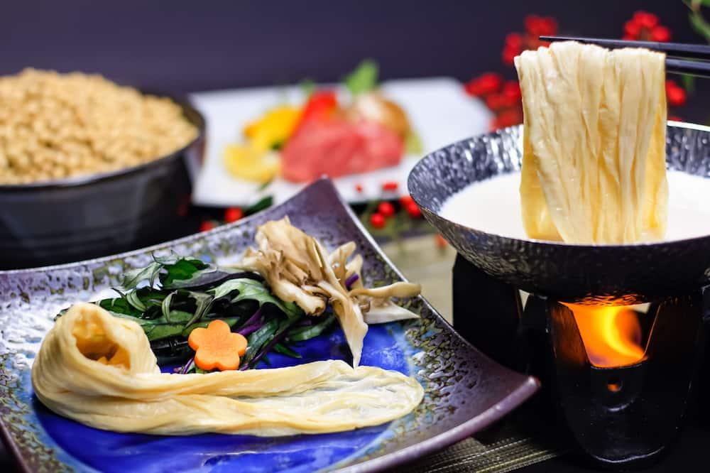 Japanese Style Room, West Building - Ryokan dining