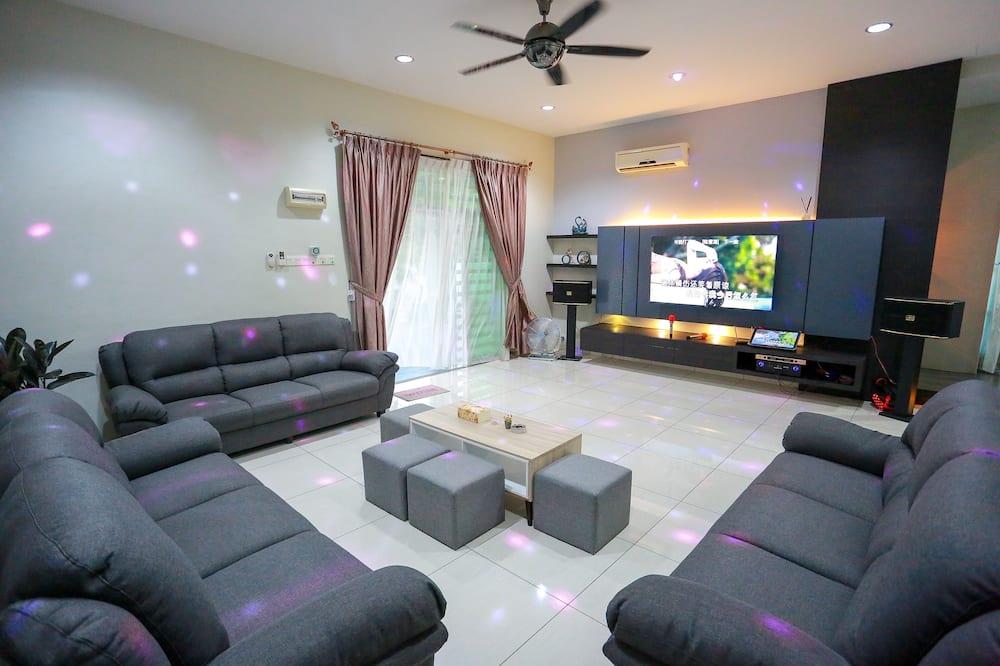 Bungalov typu Exclusive - Obývací pokoj