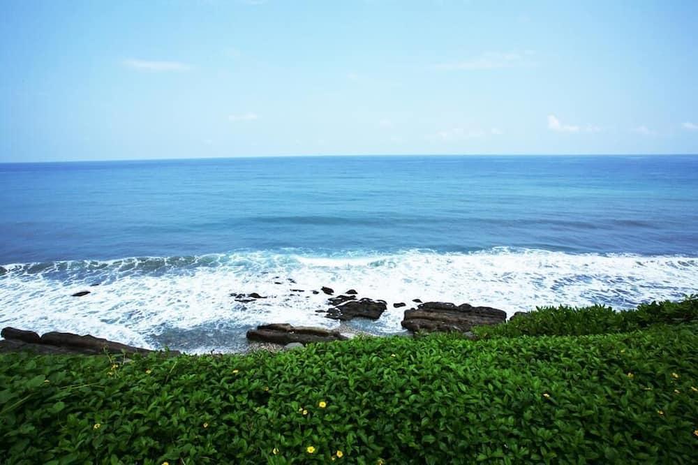 Habitación cuádruple Deluxe, vista al mar - Vista a la playa o el mar