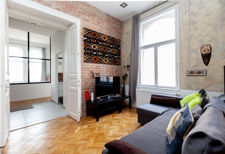 Logodi Castle Loft, Budapest, Design Apartment, Living Area