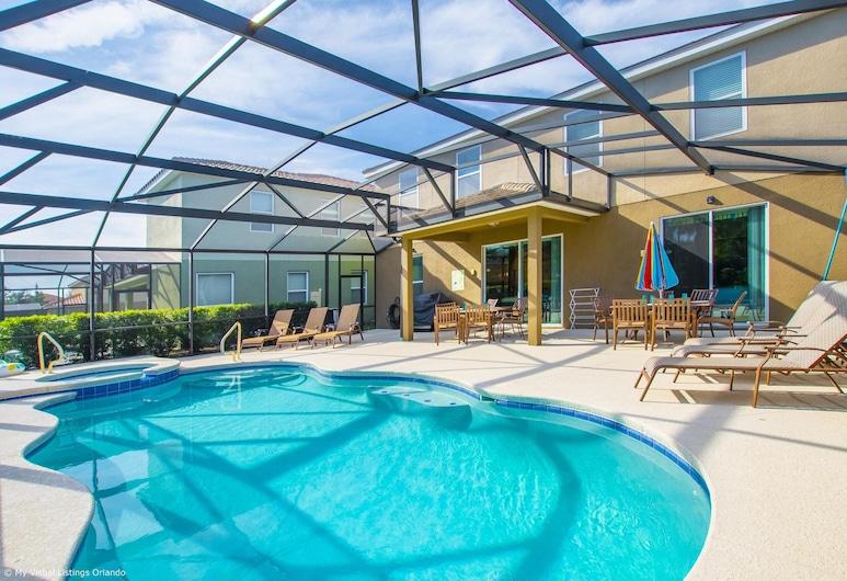 Tropical Luxury Near Disney! Professionally Decorated With Huge Pool, Game Room. 6bd/ 4.5ba #6st129, Στάδιο Μπέιζμπολ Davenport