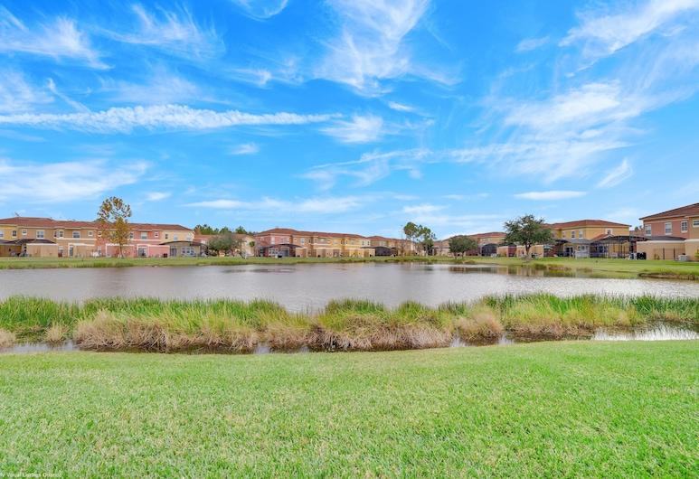 Newly Renovated, Spacious 3bd/2.5ba Villa With Lake View, Near Disney #3tv709, 基西米, 住宿範圍