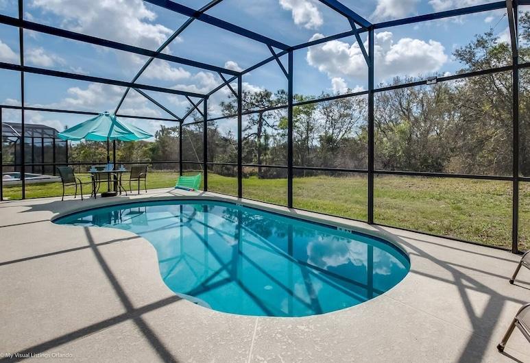 Light, Fresh and Airy Pool Home Near Disney 4bd/3ba - #4av420, Davenport, Pokoj