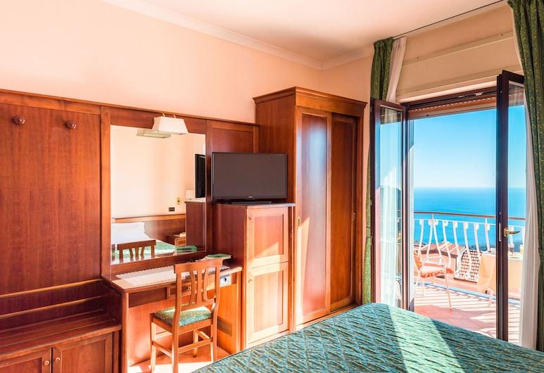 Hotel Montana, Massa Lubrense, Dvojlôžková izba typu Superior, výhľad na more, Hosťovská izba