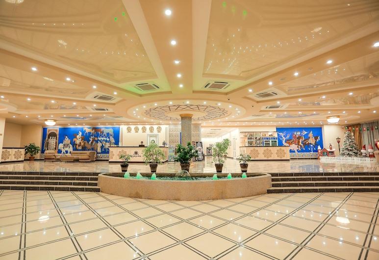 Sugdiyon Hotel, Khujand, Lobby