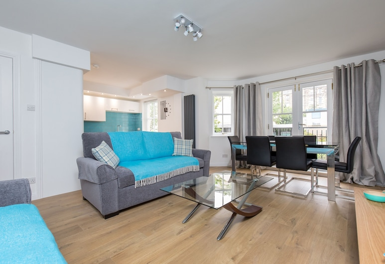 415 Huntingdon Place Apartment, Edinburgh, Külaliskorter (2 Bedrooms), Elutuba