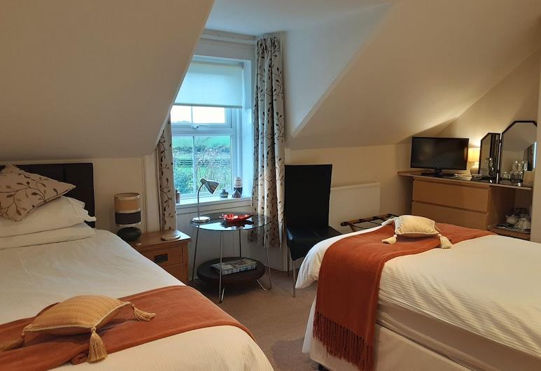 Muirfad Farm House Bed And Breakfast, Newton Stewart, חדר סטנדרט טווין, נוף לגן, חדר אורחים