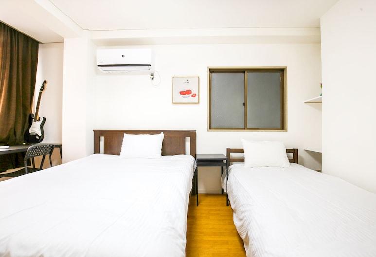 Shinsaibashi Qilv Apartments, Осака, Апартаменты, 1 спальня, Номер