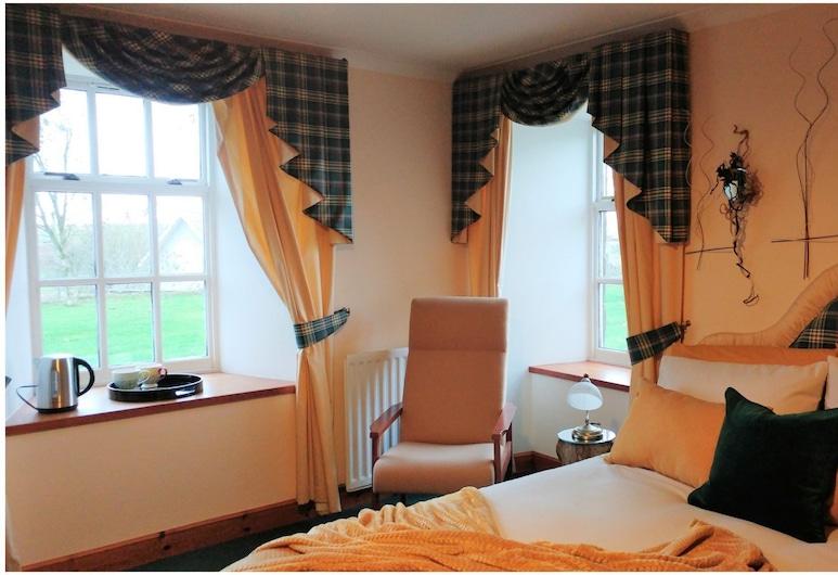 Wagtail Lodge, Stonehaven, Habitación doble, 1 cama King size (Yellow Wagtail), Habitación