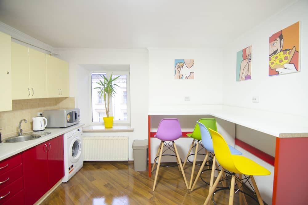Pokój dwuosobowy typu Economy - Powierzchnia mieszkalna