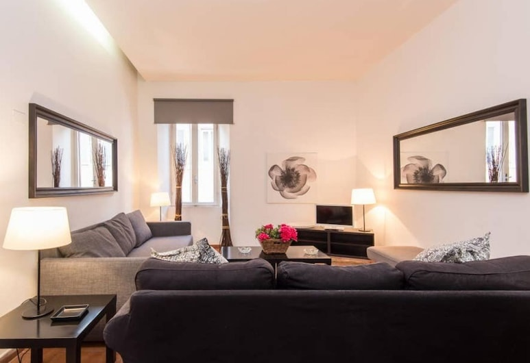 RSH Corso Two Bedroom Apartment, רומא, דירה, 2 חדרי שינה, נוף לעיר, אזור מגורים