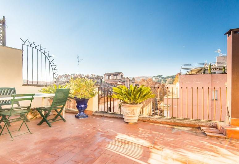 RSH Giulia Enchanting Apartment View, Rome, Apartment, 2 Bedrooms, Terrace, City View, Terrace/Patio