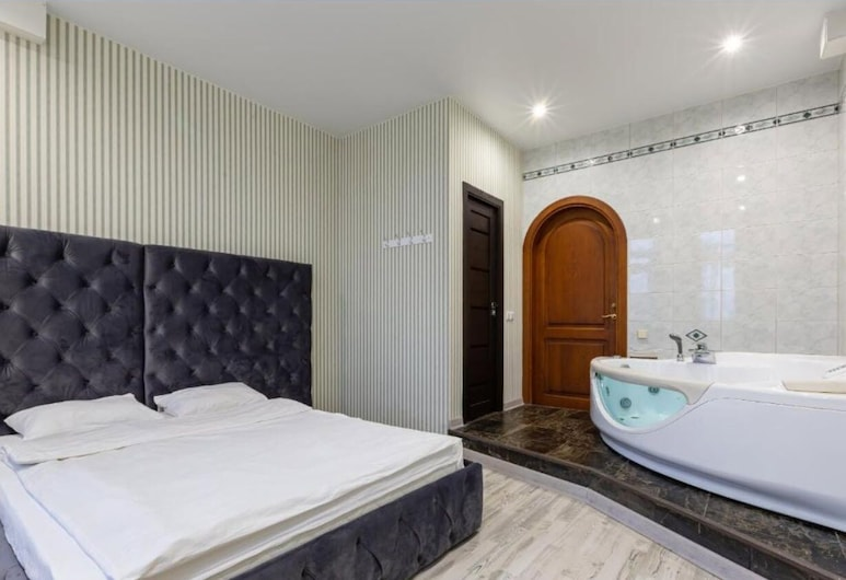 Mini-hotel Kutuzovsky 35, 莫斯科, 奢華客房, 按摩浴缸, 客房