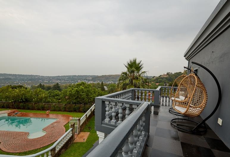 Daze House, Johannesburg, Studio – deluxe (Apartment), Balkong