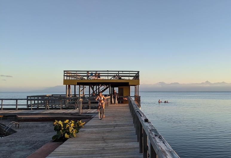 Coral View Beach Resort, Isla de Utila, Beach