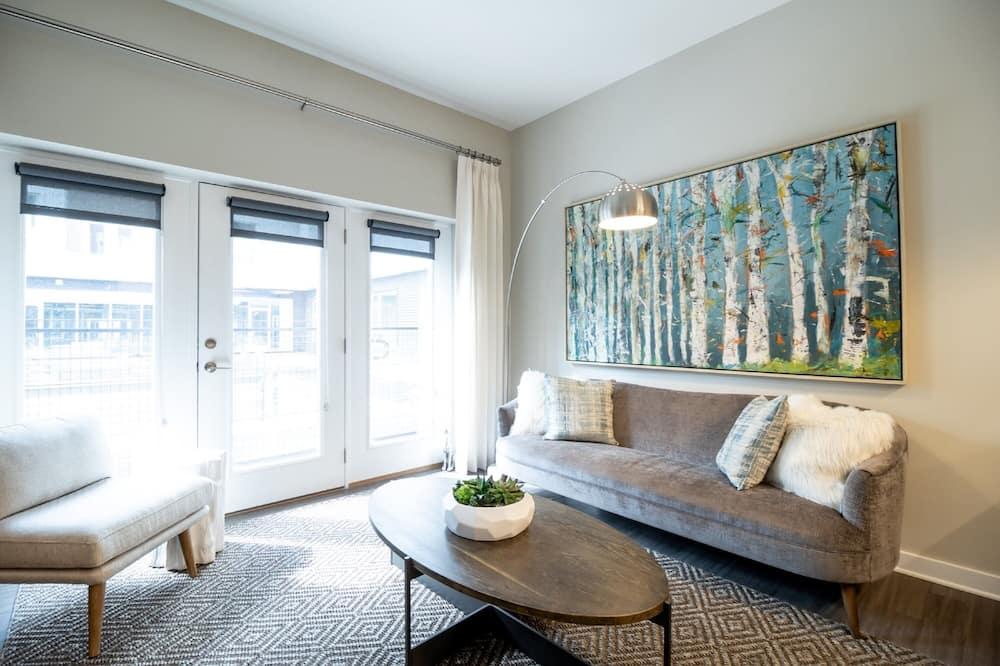 Apartamento de Luxo, 2 Quartos - Sala de Estar