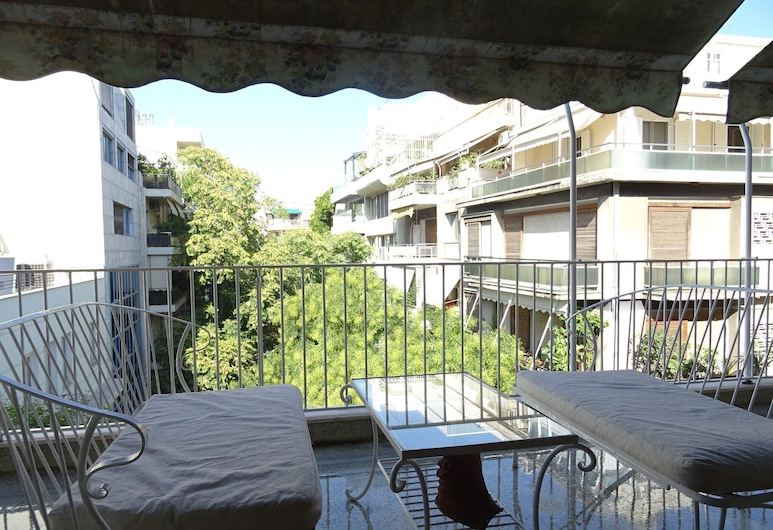 Superb location Athenian apartment, Atenas, Apartamento, Varanda