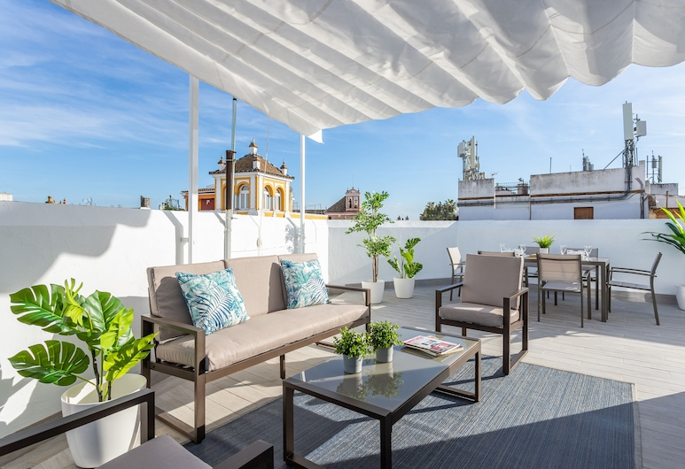 Outstanding Penthouse With Private Terrace Near the Cathedral. Mateos Gago V, Sevilla, Előterasz