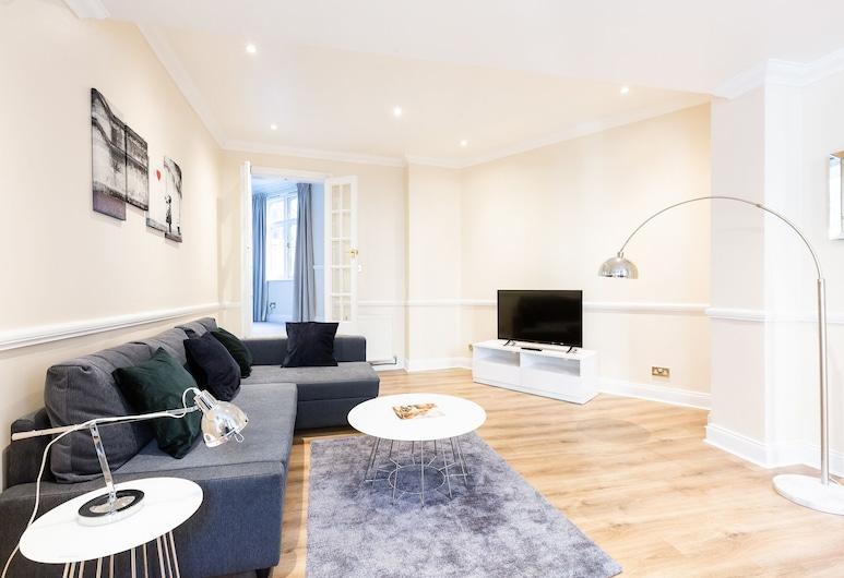 ZO Properties Central London, Londres, Apartamento Executivo, Sala de Estar