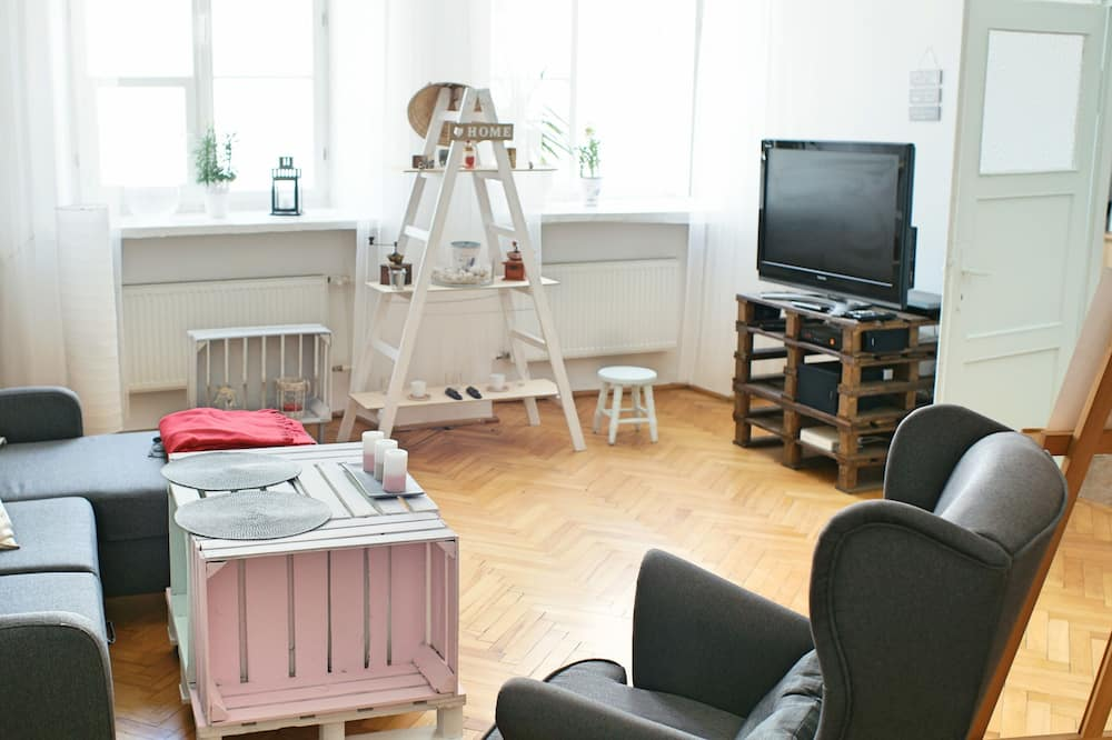デラックス アパートメント - リビング エリア