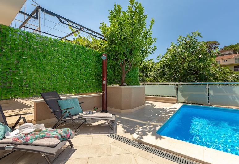 Hedera Estate, Hedera Studio 3, Dubrovnik, Studio – exclusive (0 Bedroom), Svømmebasseng
