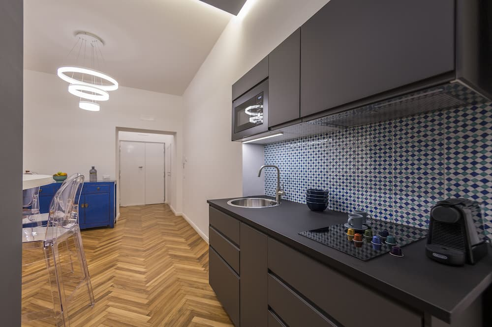 Design Double Room - Shared kitchen