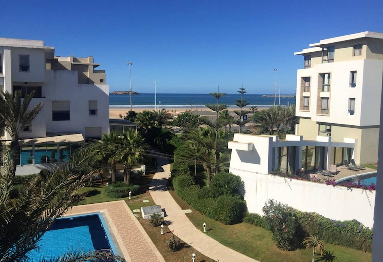 Apartment With one Bedroom in Essaouira, With Wonderful sea View, Shared Pool, Furnished Terrace - 100 m From the Beach, Essaouira, Svømmebasseng