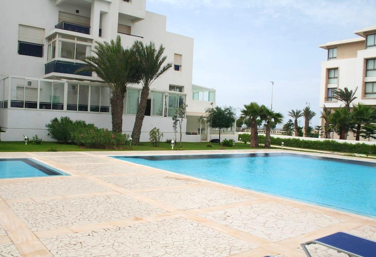 Apartment With one Bedroom in Essaouira, With Wonderful sea View, Shared Pool, Enclosed Garden - 100 m From the Beach, Essaouira, Kolam Renang