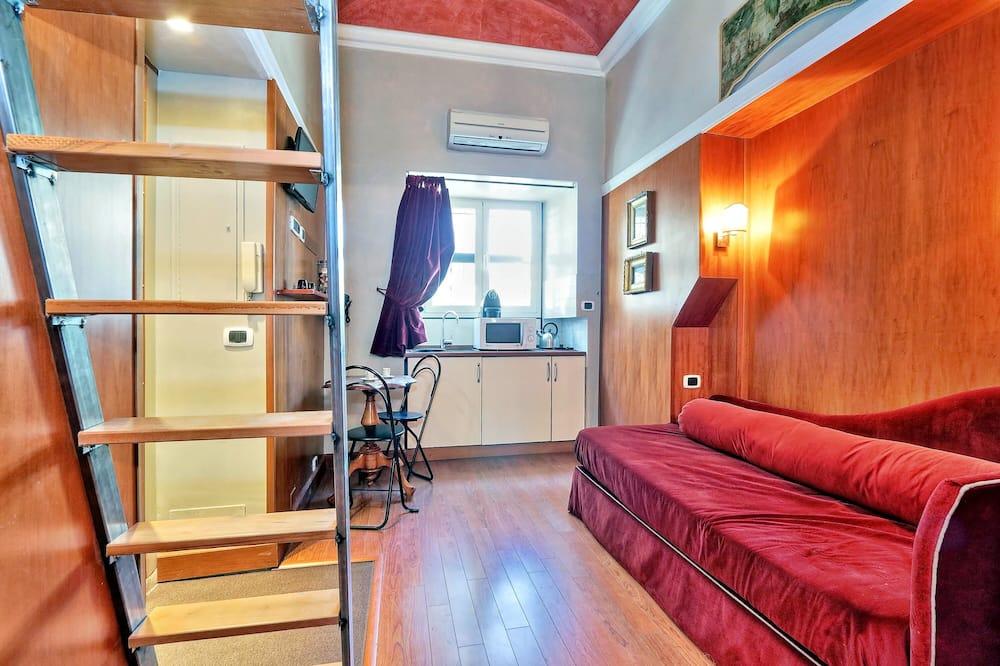 开放式客房 - 起居区