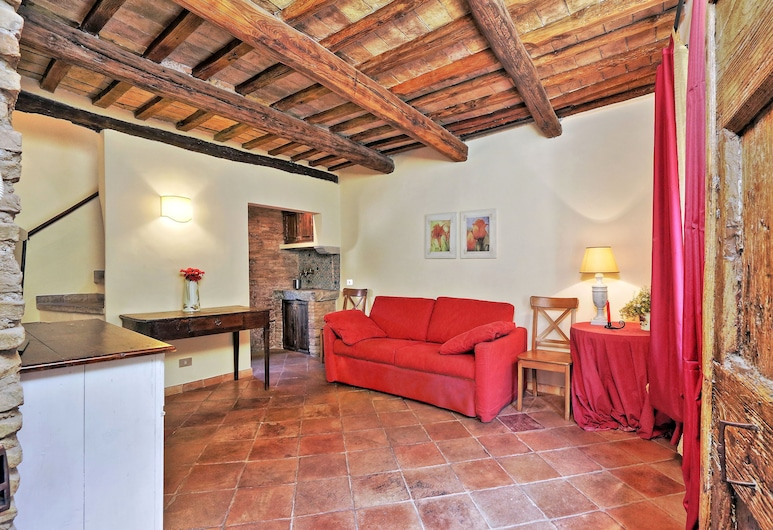 Volpe, Rome, Apartment, 1 Bedroom, Living Area