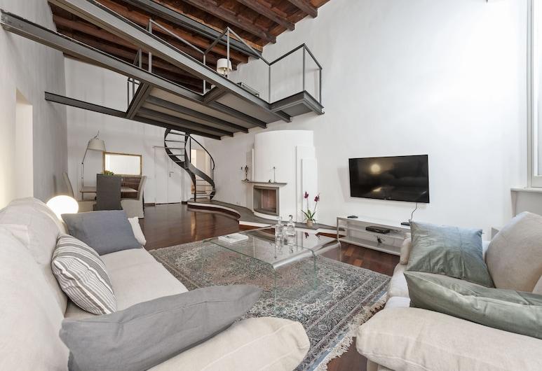 Volpe grande, 羅馬, 公寓, 4 間臥室, 客廳