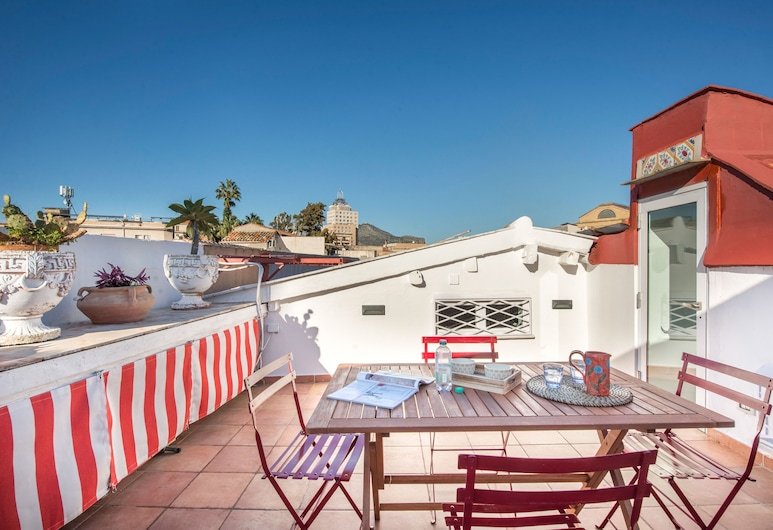 Terrazza al Capo by Wonderful Italy, Palerme, Appartement, 1 chambre, Terrasse/Patio